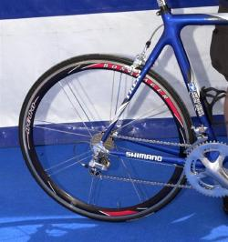 Bontrager wheel.  Picture from velonews.com