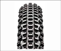 Knobbed mountain bike tire.  Picture from BlueSkyCycling.com