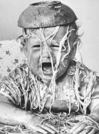 baby spaghetti dump